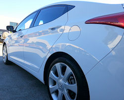 Ceramic Polymer Nanotechnology HyperSeal paint protection - Hyundai Elantra