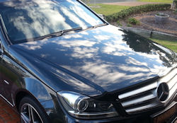 PermaGloss paint protection with self-healing nanoparticles - C-class Mercedes Benz