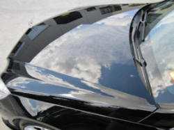 Ceramic Polymer Nanotechnology paint protection - Mercedes Benz
