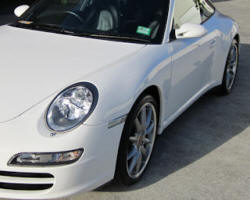 Ceramic Polymer Nanotechnology paint protection - Porsche