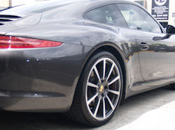 Ceramic Polymer Nanotechnology paint protection - Porsche 911 Carrera S