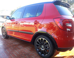 Ceramic Polymer Nanotechnology PermaGloss paint protection - Skoda Fabia