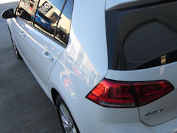 Ceramic Polymer Nanotechnology HyperSeal paint protection - VW Golf MK7