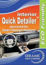 Quick Detailer Interior™ with a Durable Carnauba Nanoparticles